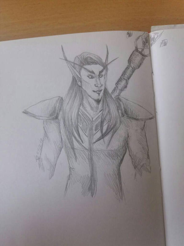 Blood elf boi by KathiesCreatures
