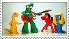 Gumby stamp by bitterrose6-gumitch
