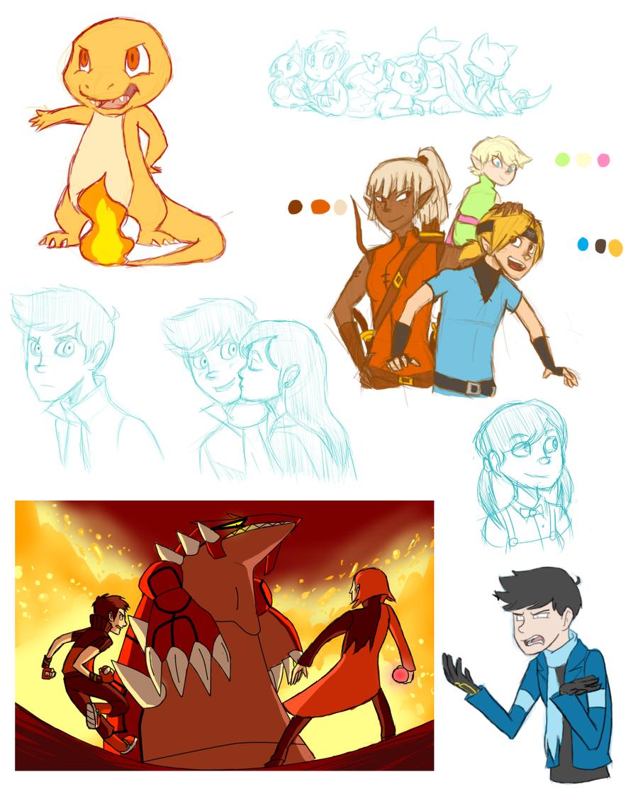 Tumblr Dump 2 by ruddyowls