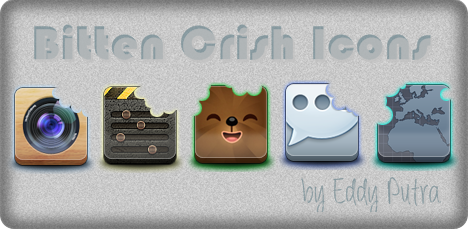 Bitten Crish [icons] pack by EddyPutra