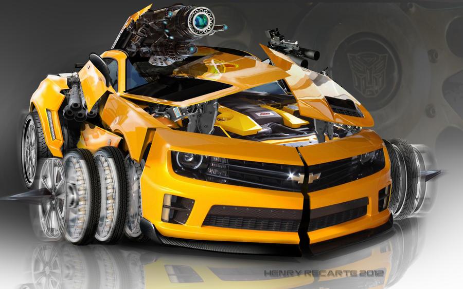 Bumblebee By Recarte On Deviantart