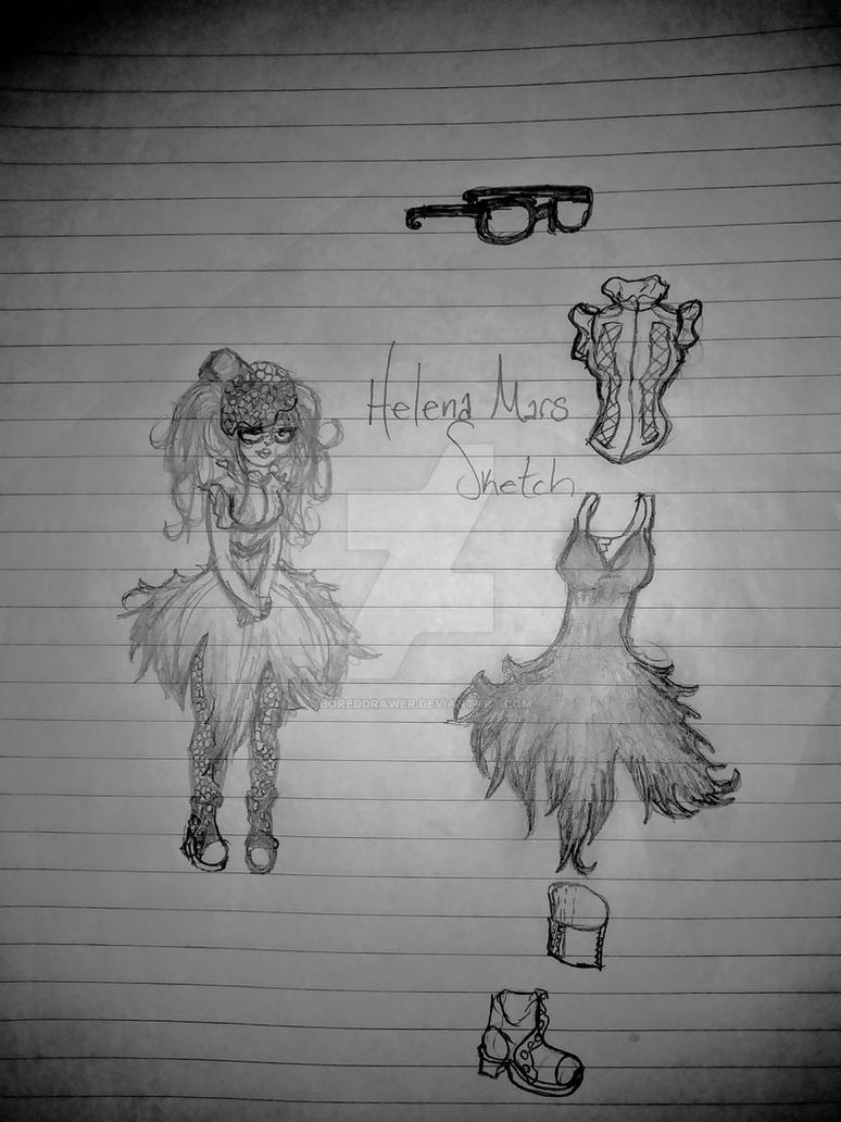 Helena sketch by boreddrawer