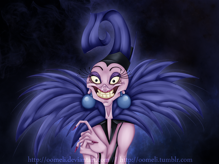 Yzma By OoMeli On DeviantArt