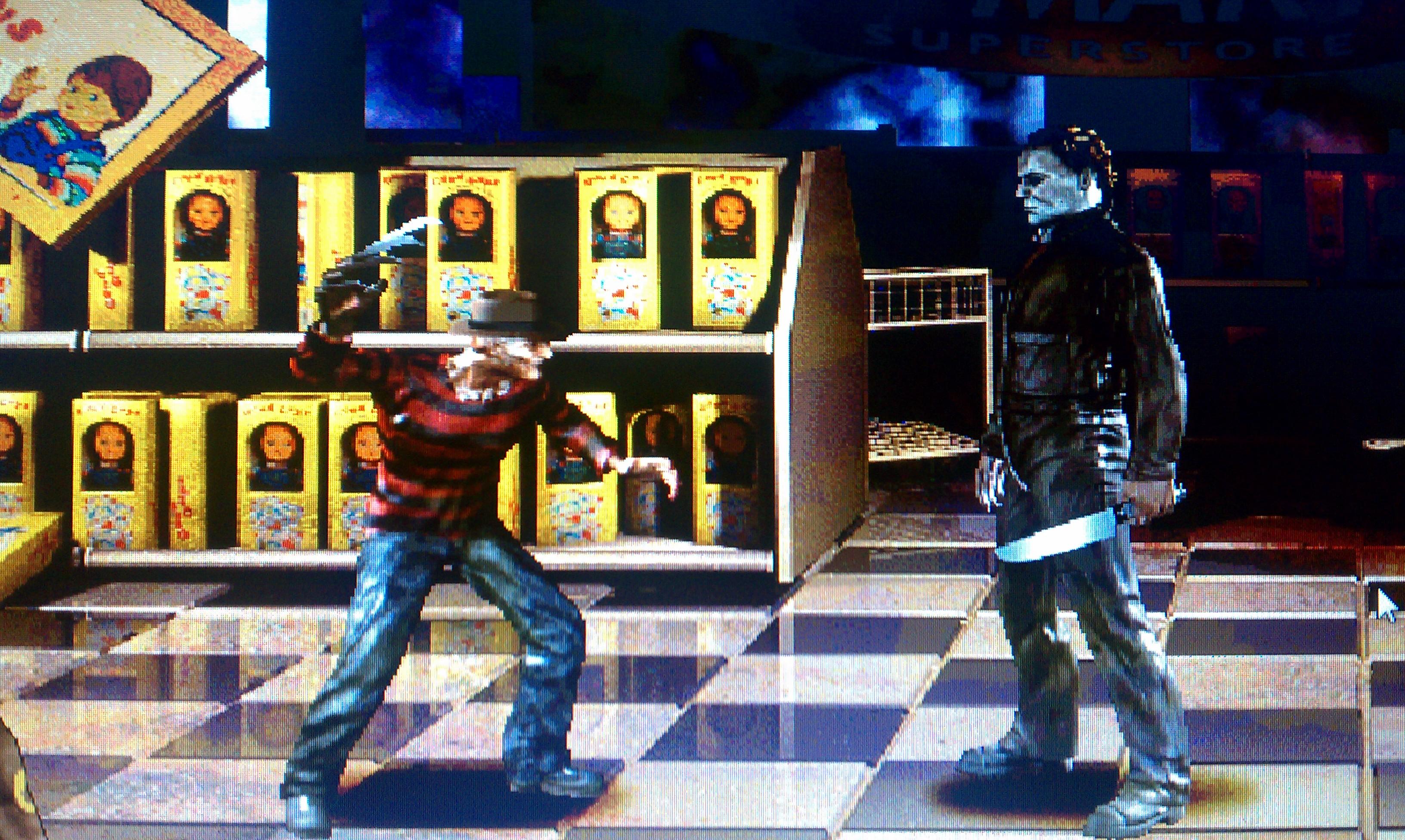 Freddy vs Michael Myers by artsy2012 on DeviantArt