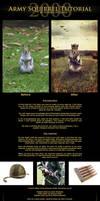 Army Squirrel Tutorial by Neijman