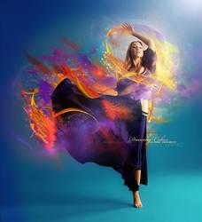 Dancing Colors by Neijman