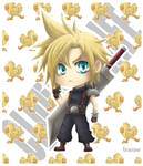 Chibi Cloud Strife_Final Fantasy VII