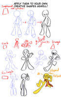 SugarRatio's tutorial on Glorified Stickfigures! 2 by SugarRatio