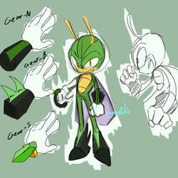 Tenor the Grasshopper by SugarRatio