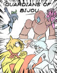 Guardians of Bijou comic