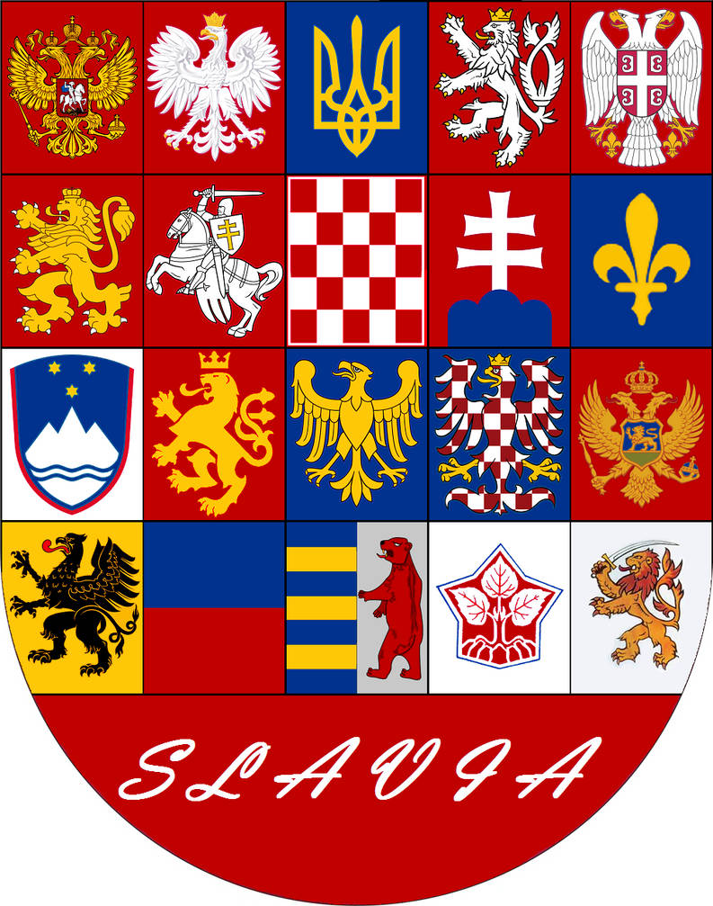 Coat of Arms of Slavia - pr. 3 by VittorioMatteo