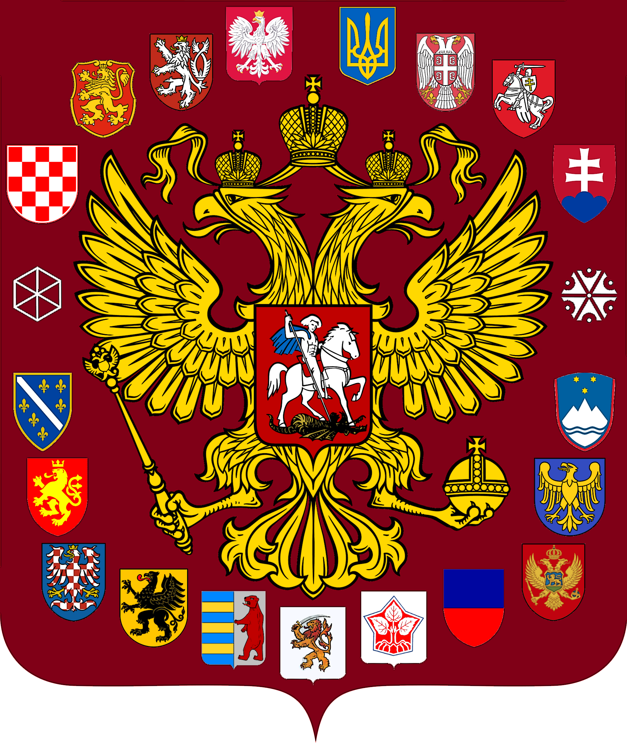 Coat of Arms of Slavia - pr. 5 by VittorioMatteo