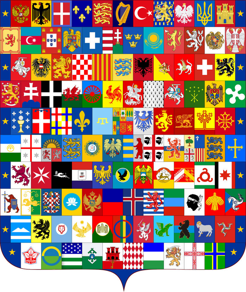 Coat of Arms of Europe by VittorioMatteo