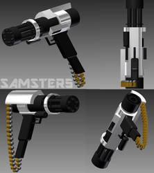 The Mini-Minigun by SAMSTER5