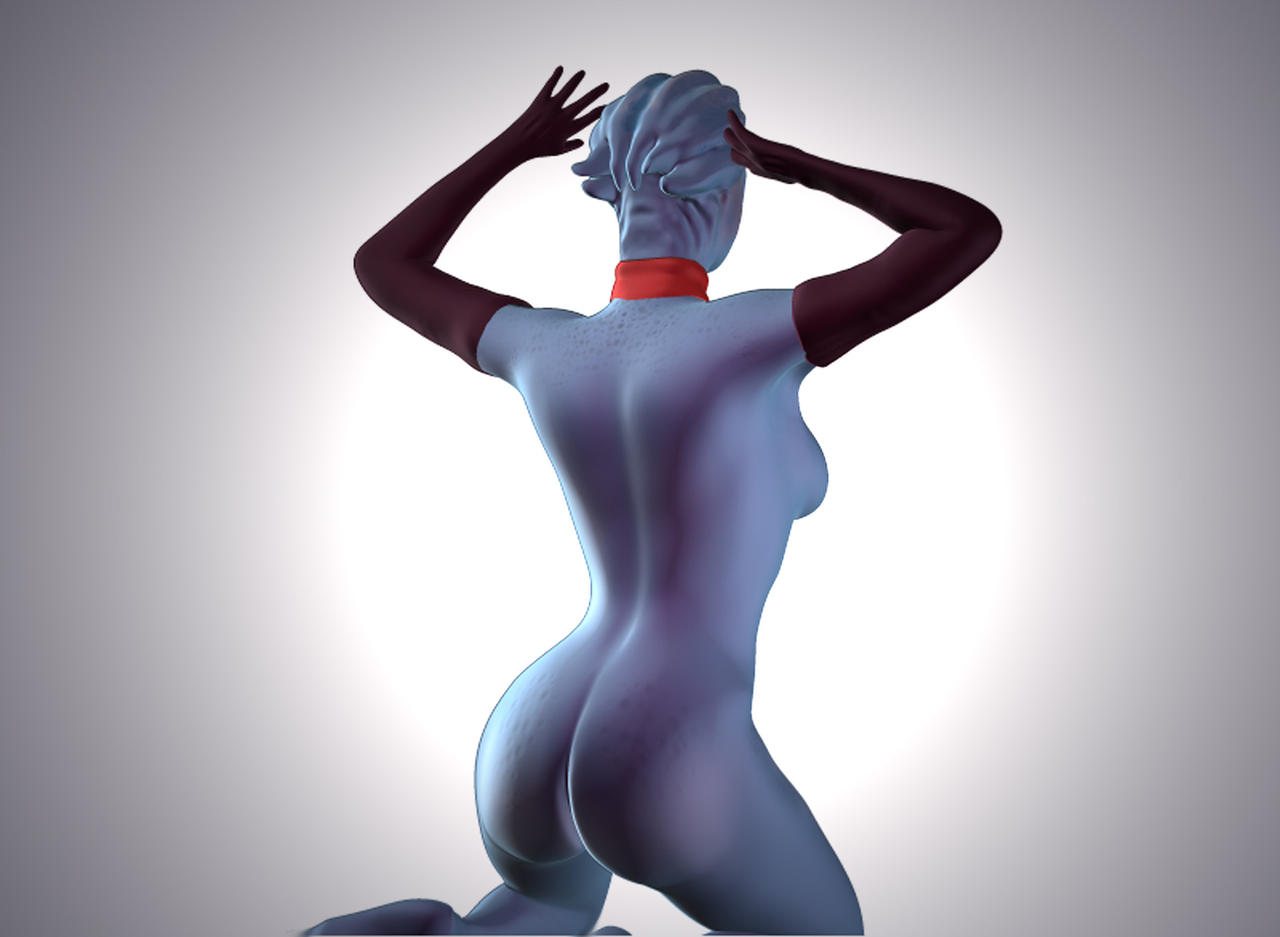 (NSFW) Butts Effect: A Collection of The Finest Posteriors - Page 6 Asari_stripper_by_brainscann-d51qk3d