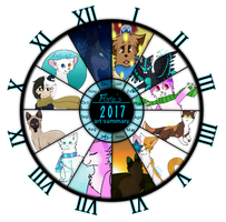 Flare's 2017 art summary