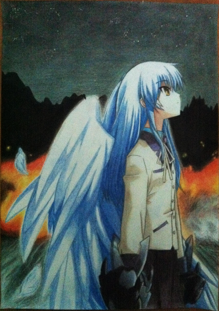 Angel Beats: Tenshi by Ayu999pl