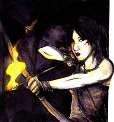 Lara's hunging... by Neilou-X