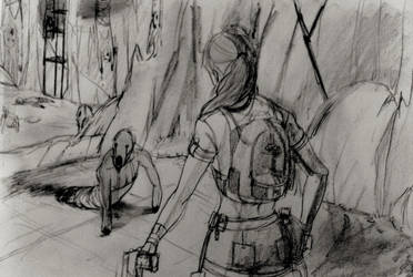 Tomb Raider Lightless - What are these things? by Neilou-X