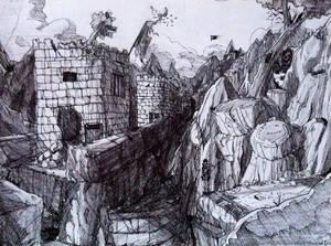 Wall Of China - Tomb Raider II