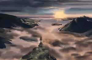 Observing the horizon - Tomb Raider Lightless