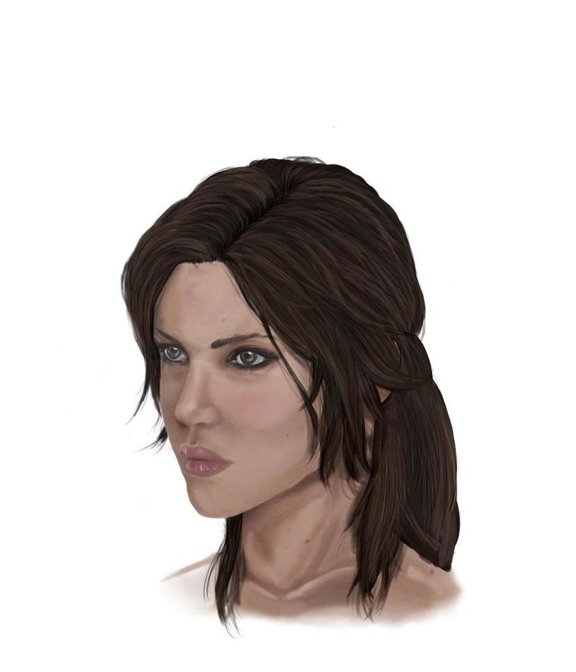 Lara Croft - TOMB RAIDER by Neilou-X