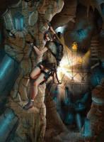 Tomb Raider Lightless - Secrets Behind Darkness by Neilou-X