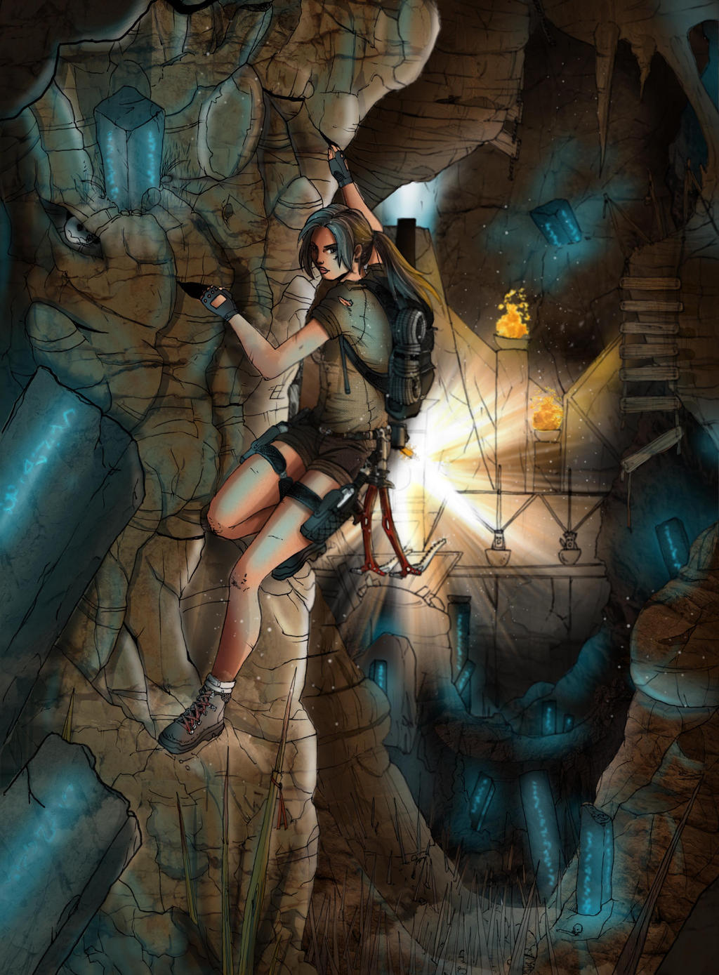 Tomb Raider Lightless - Secrets Behind Darkness by Neilou-X