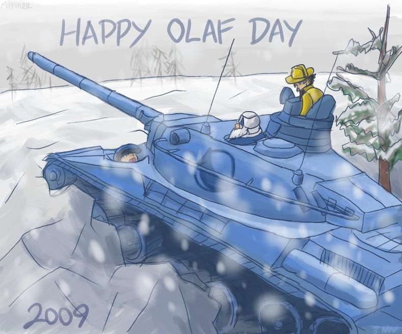 Advance Wars: Olaf Day 2009 by Mirinee