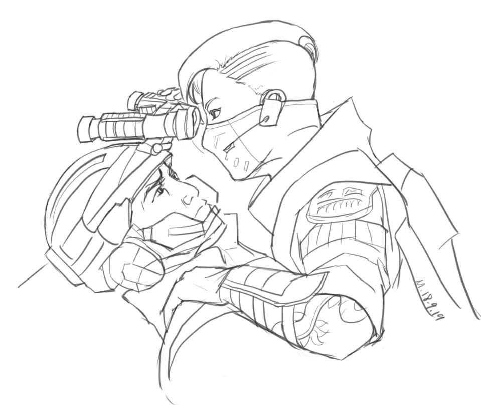 Call of Duty BO4: Seraph X Recon