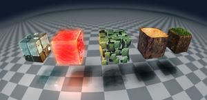 Minecraft blocks