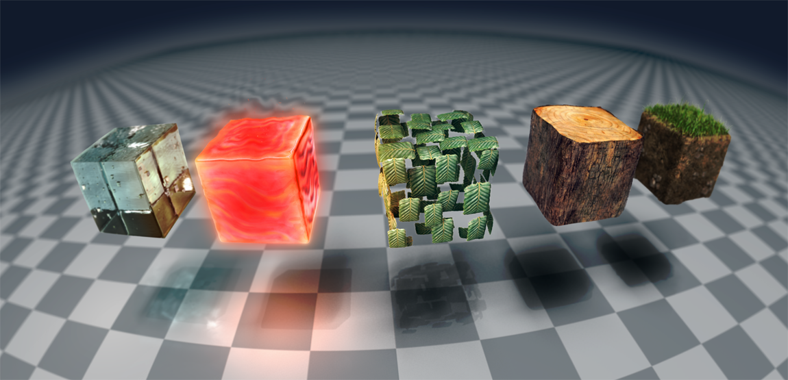 Minecraft blocks by DavidHansson