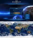 Starcraft 2 Main menu mod