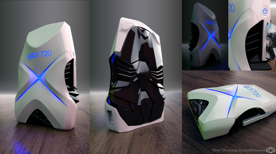 Xbox 720 Concept by DavidHansson