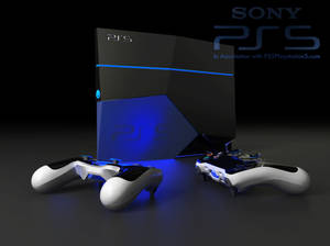 Ps 5 console and controllers