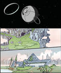 The Void Comic, first page