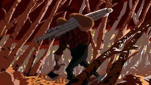 Sasquatch Lumberjack