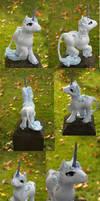 The Last Unicorn custom collag