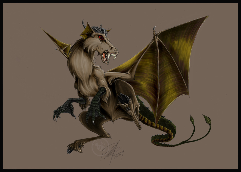 Jersey Devil - Leed's Devil by Bee-chan