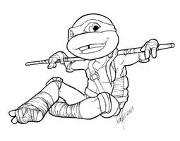 Smexy looking Donatello inks SMALL