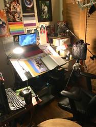 Bee's studio space 2020