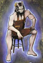 Viakana the smexy ROYAL blacksmith