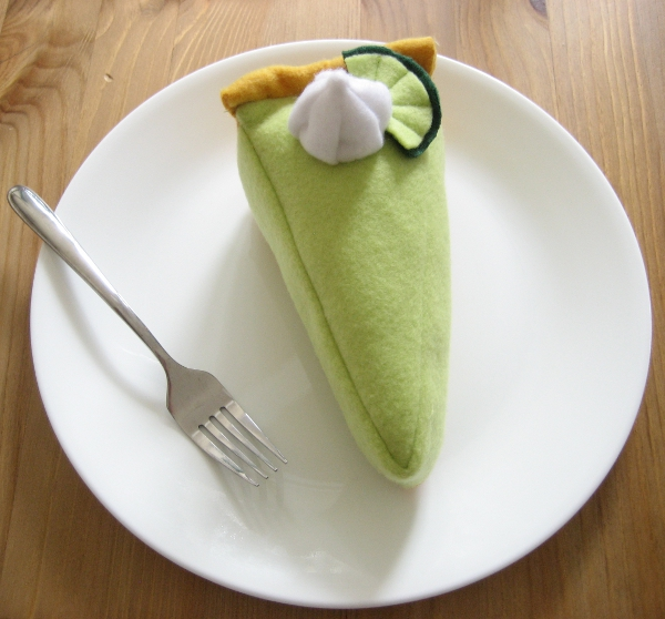 Key Lime Pie Slice Plush by Neoitvaluocsol