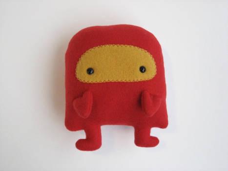 Red Robot Plush