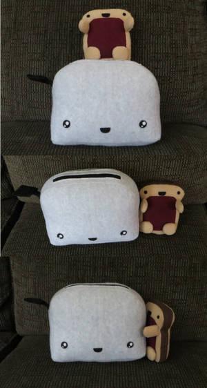 Toaster with Toasty
