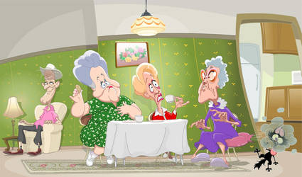 Old ladies by Avimator
