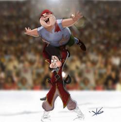 Pirates on ice by Avimator