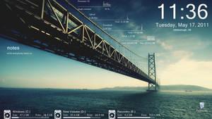 Bay Bridge Rainmeter