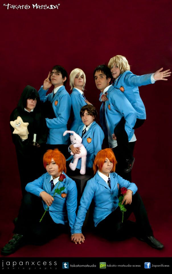 Ouran host club by maskplayers-group-mx