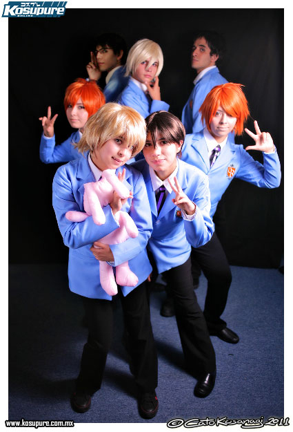 Ouran host club 2 by maskplayers-group-mx